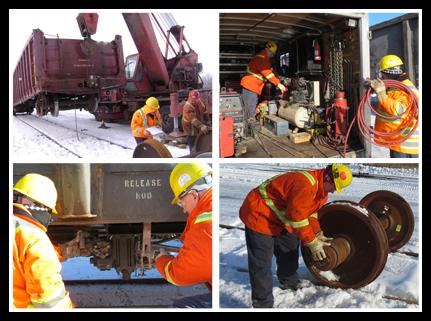 Maintenance and repair of rail rolling stock - Perkan   Rail services